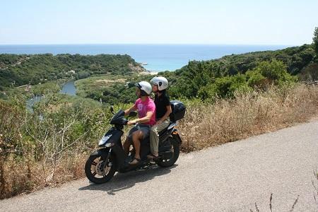 Scooter - Prima Sardegna - Cala Gonone